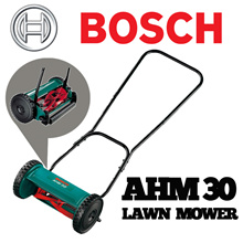 Bosch AHM 30 Hand mower. A Hand mower that is fast and convenient Mowing of small lawn areas