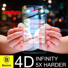 Baseus 4D Infinity Tempered Glass iPhone XS/XR/X/8/7★Samsung Note 9/Note 8/S9/S8