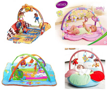 educational playmat with toy/ playgym lovely play mat mattress play gym (2A-06/2B-06)