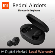 Xiaomi Redmi Airdots Earbuds Wireless Earphone Airpod Earburds QCY/QCY T1 12-hour long battery life