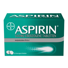 BAYER Aspirin ASPIRIN® 500 mg 80 tablets