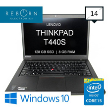 [Refurbished] LenovoThinkpad T440s/ IntelCore I5 / 128SSD / 8GBRAM / Wins10 Pro/ 30 days Warranty