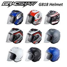 Gracshaw Open Face G818 Helmet/Open Face Helmet/Motorcycle Helmet/G818 Helmet
