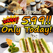 ★ Milk Spread ★ korea food / Bread Spread Jam / greentea honey butter chip