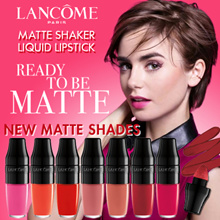 NEW MATTE SHAKER! 7 NEW COLOURS! LANCOME JUICY SHAKER