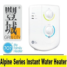 [Gain City] 707 Princeton Alpine Series Instant Water Heater ( 2 Years Warranty)