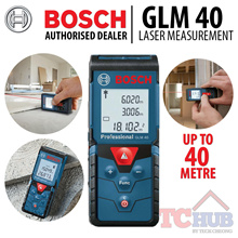 Bosch GLM 40 Laser range Measurement.A easy Compact and robust Dust/Splash Resistant