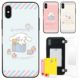 ★Authentic★Cinnamoroll 카드 Bumper Case★Samsung S10/S9/S8/S7/Note 9/8/5/A5/A7/A8/A9/iPhone XS/Max