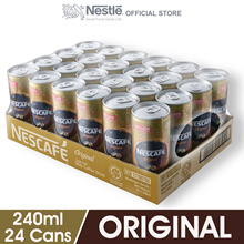 NESCAFE Original RTD 24 Cans 240ml Each