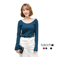 TOKICHOI - Open Back Top With Straps-172530-Winter