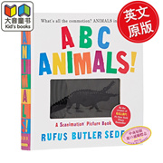 Visual animal ABC animation Book English original ABC Animals!: A Scanimation Picture Book will move
