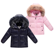 authentic New 2018 winter down jacket for boys 2-8 years children s clothing thicken outerwear &amp