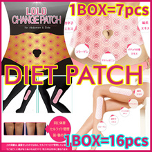 💋1 BOX = 16 1 BOX = 7💋 Diet patch abdominal management paw control / Free Shipping From Korea / cellulite Decrease effect