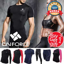 [Buy 2 Free GIFT] 💪 Korean Compression Wear/YOGA/rash guard