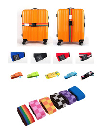 Luggage Belt Strap / TSA Travel Lock / Travel Bags / Portable with Tags Weighing Scales