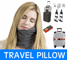 HOT♥Travel Accessories♥Neck Travel Pillow♥Luggage Bag Bungee♥Luggage Strap with TSA Combination Lo