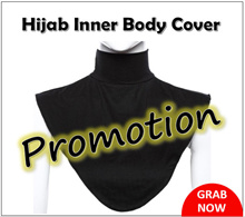 Hijab Inner Body Cover Modesty Extension