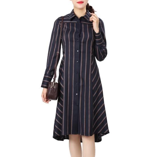 ラブLAPTR版チェックロングシャツ、ワンピースAH4WOB64 面ワンピース/ 韓国ファッション