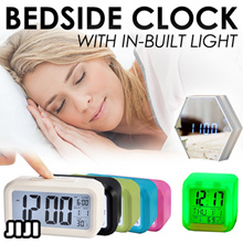 Digital Alarm Clocks! LED DISPLAY ★Bedside Clocks ★Portable ★Travel ★Super Loud