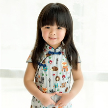 👗1-7yrs Girls apparel💓2018 design💓Cheongsam💓new year clothes💓style💓sweet💓pretty💓fast shipp