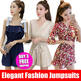 ★NEW ★ Elegant Fashion jumpsuits / Comfortable/suspender pants