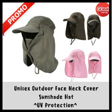 Unisex Outdoor Face Neck Cover Sunshade Hat Cap Fishing Hiking Hat UV Protection