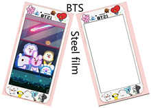 BTS BT21 Cartoon animation Cute 3D Tempered Glass Screen Protector Cover Film for iPhone 6/6S 6Plus/