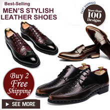 ★Mens Leather shoes★Buy two free Shipping★Mens Shoes★Dress Shoes★PLUS Size Shoes★Leather Shoes