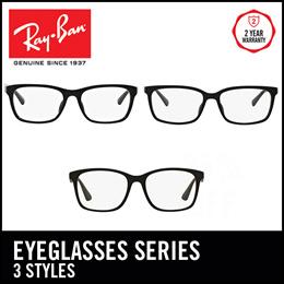 527a3ddf0 Ray-Ban Glasses- Shiny Black Matte Black - 3 Models Available