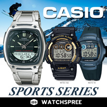 [CHEAPEST PRICE IN SPORE] *CASIO GENUINE* SPORTS SERIES!  CA506 AW49 AW48 AW80 F200 Free Shipping!