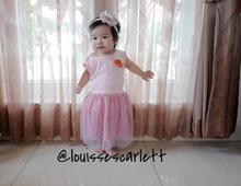 Dress anak perempuan / bayi perempuan kalem import kode 032