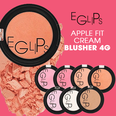[EGLIPS] Apple Fit Cream Blusher 4g 6 Color / Soft feeling Deals for only Rp75.000 instead of Rp75.000