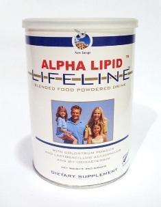 Alpha Lipid Lifeline Colustrum Milk Powdered Drink 450g X 2