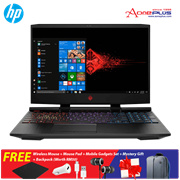 HP OMEN 15-dc0126TX Notebook 5EL71PA Shadow Black OMEN 15 FHD/i7-8750H//8GB +Free Premium Gift