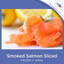 Smoked Salmon Sliced (900G) - Frozen