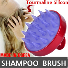 [KOREA HIT] shampoo hair brush / Silicon anion tourmaline Scalp Massage / 3D Bomb Curl Brush / Magic TANGLE-FREE Hair Brushes Comb / wet hair paddle / Wooden brushes/ Beauty Make up Style wave