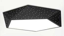 ☼Black Star Ceiling Light☼LED Light☼Tri-Colour Light Option☼Made in Taiwan☼