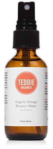 Orange Blossom Water Face Toner - 100% Pure Organic Neroli Facial Toner Spray 2oz - Floral Mist Revi