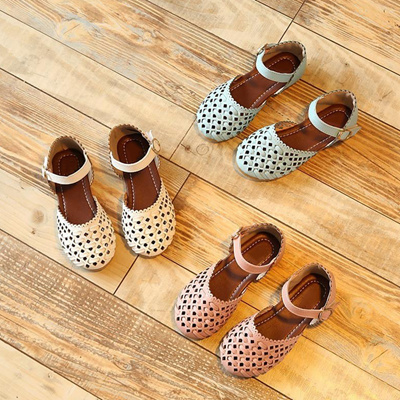 2318bb1a4667 Girls sandals Summer toddler gladiator sandals flat shoes Fashion children  shoes girls princess cut-