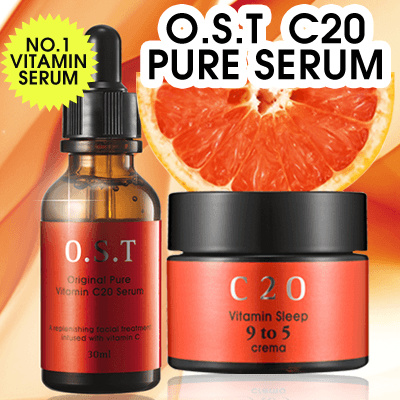 OST C 20 Pure Serum Vitamin C ORIGINAL 30ml _-BEST SELLER c20 IN Qoo10- Deals for only Rp195.000 instead of Rp195.000