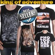 Mens Tanktop Tshirt National Geografic- Distro Quality- best seller-best product-kaos distro pria