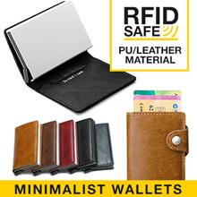 Minimalist Slimwallet Men RFID-safe Wallet