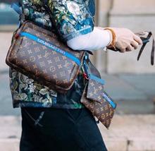 Supreme bag The new Messenger Leather Handbag Joint limited shoulder bag Kim Jones M43843 M43829
