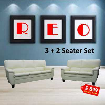 REO Sofa set. Special offer while stock last. Free STULI stool for 3+