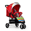 [BEST DEAL] SEEBABY - T03 Ultra Comfort Multiposition Backrest Large Basket Tricycle Baby Stroll
