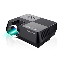 [iroiro]BeamerKing 프로젝터 안방극장 1080P HD 2200루멘 소형 미러링 기능 첨부 와 사다리꼴 보정 일본어 취급 설명서 첨부 3년 보증 WS8S 업그레이드2.