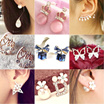 【All in 1 Shipping Fee】★★★Korean Style Earrings 2016 New Design Jewelry Fashion Accessories★★★