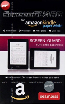 Kindle Paperwhite | Kindle | Voyage | Nook | Kobo 2-Pack SCREEN GUARD Premium Matte Anti-Glare