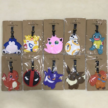 SOFT SILICON CUTE BAG TAG/ LUGGAGE TAG * MORE THAN 100 DESIGN S TO CHOOSE FROM STAR WARS HELLO KITTY