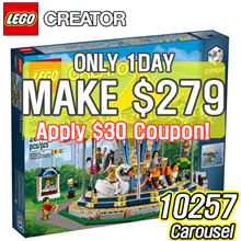 [MAKE $279]LEGO Creator Expert Carousel 10257 Building Kit